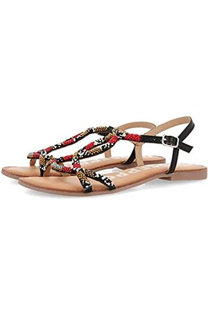 Gioseppo Women's Parish Open Toe Sandals, (Negro Negro)