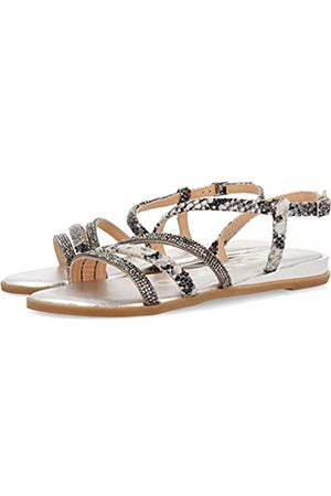 Gioseppo Women's Frisco Open Toe Sandals, (Plomo Plomo)