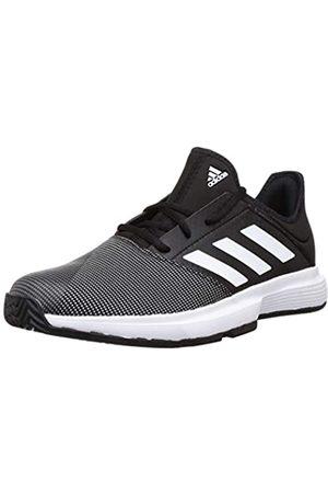 adidas Men's Gamecourt M Tennis Shoe, Core /FTWR / Six