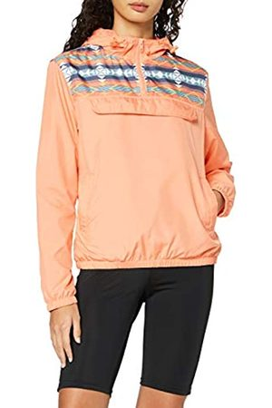 Urban classics Women's Windbreaker Ladies Inka Pull Over Jacket