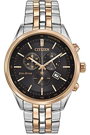 Citizen Men's Chronograph Solar Powered Watch with Stainless Steel Strap AT2146-59E