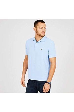Nautica MensK41050Classic Short Sleeve Solid Polo Shirt Spread Collar Short Sleeves Polo Shirt - - S