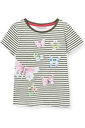 Salt & Pepper Girl's Schmetterlinge Mit Glitzerdruck Und Pailletten T-Shirt