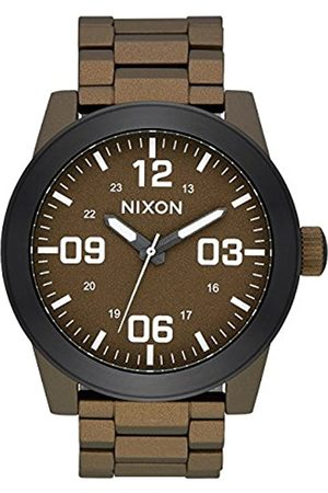 NIXON Mens Analogue Quartz Watch with Stainless Steel Strap A346-2856-00