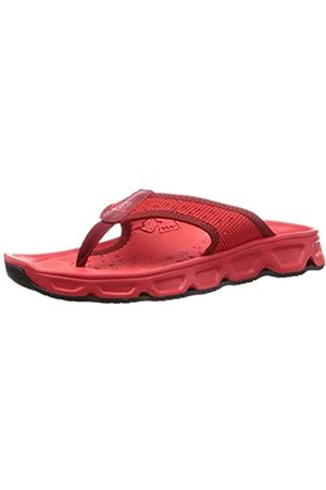 Salomon Men's RX Break 4.0, Recovery Slippers, High Risk / Dahlia/