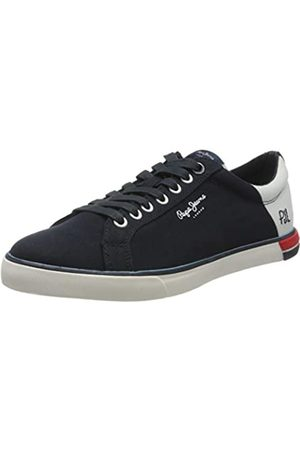 Pepe Jeans Men's Marton Low Trainers, (Navy 595)