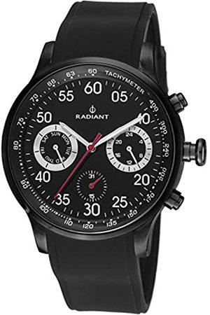 Radiant Mens Chronograph Quartz Watch with Rubber Strap RA444601