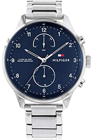 Tommy Hilfiger Mens Multi dial Quartz Watch with Stainless Steel Strap 1791575