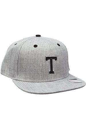 MSTRDS Letter Snapback T Baseball Cap, -Grau (T 1180,4635)