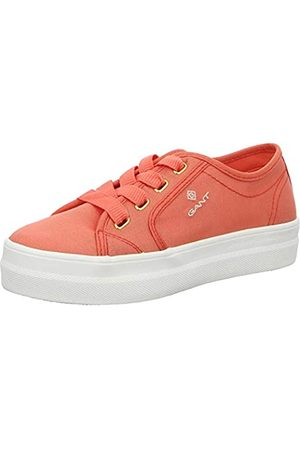 GANT Women's Leisha Low-Top Sneakers, (Clementine G493)