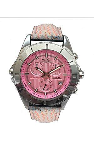 Chronotech Unisex Adult Chronograph Quartz Watch with Leather Strap CT7636L-06