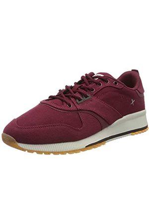 SCOTCH & SODA FOOTWEAR Men's Vivex Low-Top Sneakers, (Wild Berry S507)