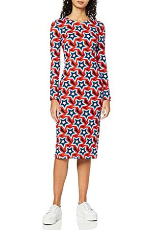 House of Holland Women's All Over Star Bodycon Dress