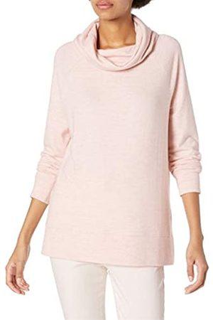 Daily Ritual Cozy Knit Raglan Funnel Neck Sweatshirt Shirt
