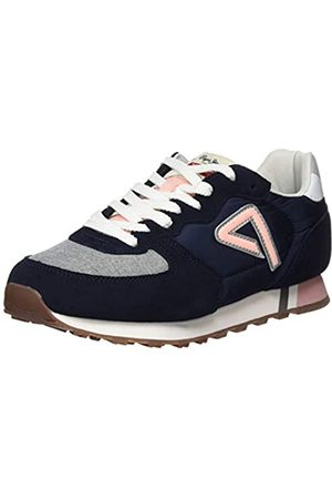 Pepe Jeans Women's Klein Archive Summer W Chambray Trainers, (Navy 595)