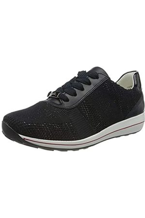 ARA Women's Osaka Trainers, Metallic,Blau/Navy 06