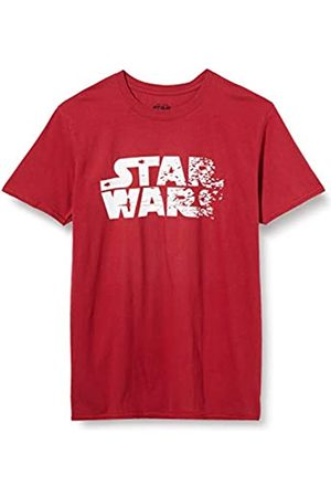 STAR WARS Men's Rebel Text Logo T-Shirt