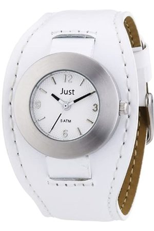 Just Watches Women's Quartz Watch 48-S3851-WH with Leather Strap