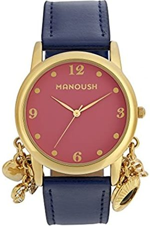 Manoush Unisex-Adult Analogue Classic Quartz Watch with PU Strap MSHCH02