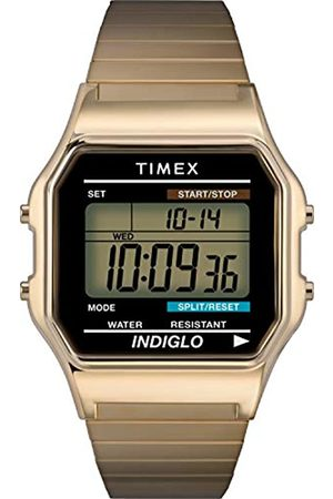 Timex Men's Classic Digital 34 mm Expansion Band Watch T78677