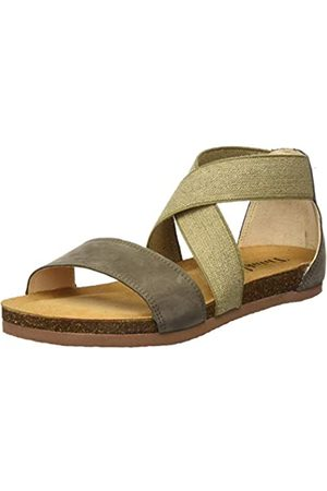 Think! Women's 686593_Shik Ankle Strap Sandals, (Oliv/Kombi 63)