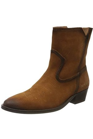 Replay Women's New Gipsy-Primordial Cowboy Boots, (Tan 56)