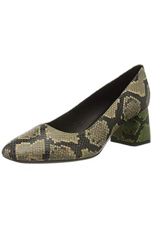 Geox Women's D Seyla D Closed-Toe Pumps, (Skin/Olive Ca5d3)