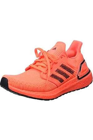adidas Women's Ultraboost 20 W Running Shoe, Signal Coral/Core /FTWR