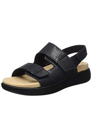 Romika Women's Borneo 06 Sling Back Sandals, (Schwarz 100)