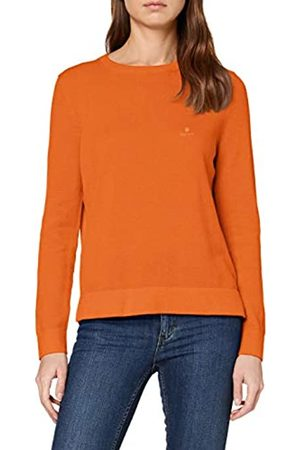 GANT Women's Cotton Pique Crew Jumper