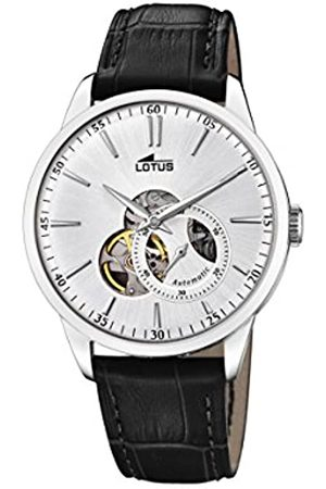 Lotus Watches Mens Analogue Classic Automatic Watch with Leather Strap 18536/1