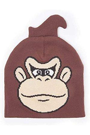 Meroncourt Unisex's Nintendo Donkey Kong Face Cuffless Beanie
