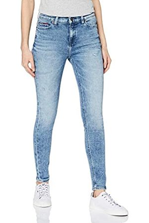 Tommy Jeans Women's Rise Skinny Nora Snmd Straight Jeans