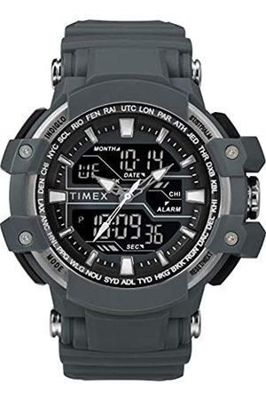 Timex Men's Tactic DGTL 50 mm Resin Strap Combo Watch TW5M22600