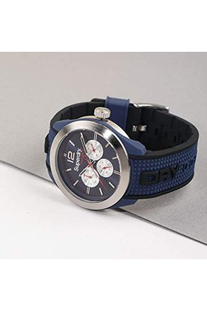 Superdry Mens Analogue Quartz Watch with Silicone Strap SYG215UB