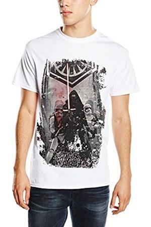 Star Wars Men's VII Kylo Ren Stormtroopers Poster T-Shirt