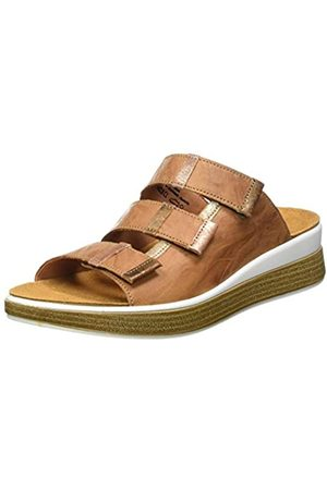 Think! Women's 686446_Meggie Closed Toe Sandals, (Oak/Kombi 46)