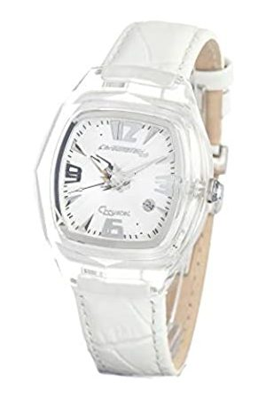 Chronotech Womens Analogue Quartz Watch with Leather Strap CT7888L/09