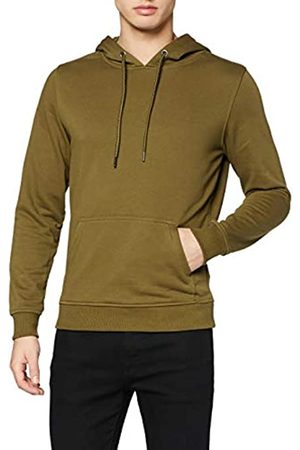 Urban Classics Men's Kapuzen-Pullover Basic Terry Hoodie Sweatshirt Hooded