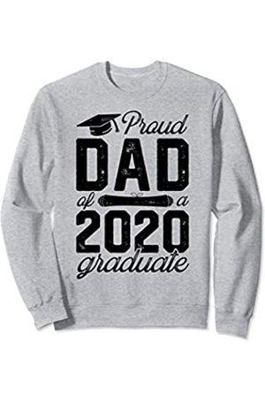 Awesome Graduation 2020 Clothes Proud Dad Of A 2020 Graduate Senior Graduation Gifts Men Sweatshirt
