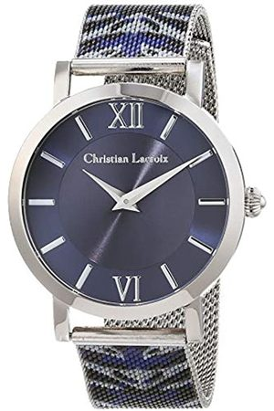 Christian Lacroix Womens Analogue Quartz Watch with Stainless Steel Strap CLWE46