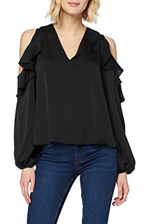 New Look Women's GO CS Ruffle V NK Blouse Shirt