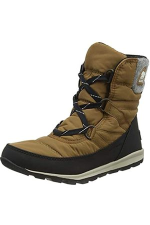 sorel Women's Whitney Short LACE Snow Boots, , ( (Felt-Elk 286))