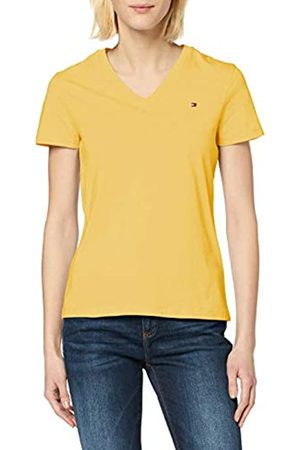 Tommy Hilfiger Women's New V-Neck TEE Jumper