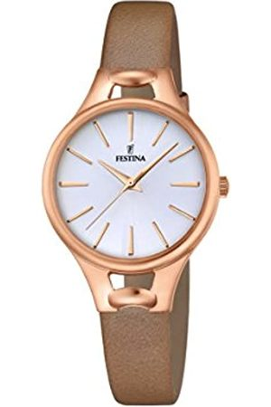 Festina MADEMOISELLE Women's Quartz Watch with Dial Analogue Display and Leather Strap F16956/1