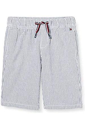Tommy Hilfiger Boy's Pull ON Seersucker Short (Twilight Navy 654-860 C87)