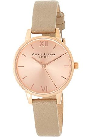 Olivia Burton Women's Analogue Japanese Quartz Watch with Plastic Strap OB16MD88