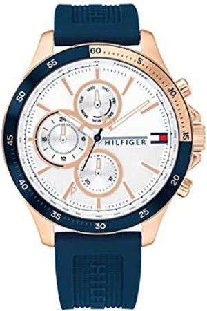 Tommy Hilfiger Men's Analogue Quartz Watch with Silicone Strap 1791778