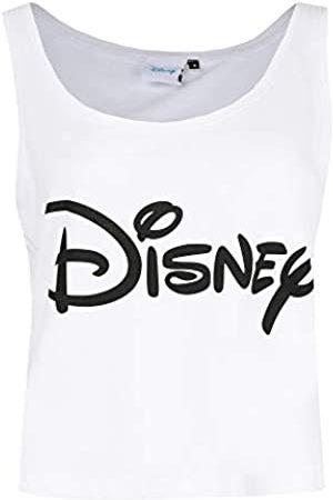 Disney Women's Plain Logo Vest Top