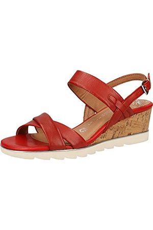 Marco Tozzi Women's 2-2-28724-24 Ankle Strap Sandals, (Chili 533)